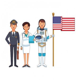Американский день труда мультфильм