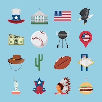 American objects and symbols