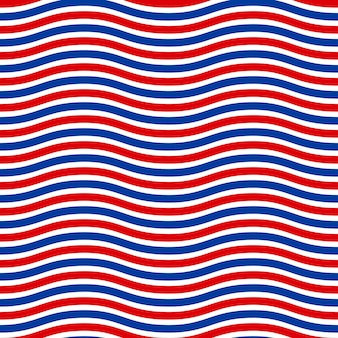 American patriotic seamless pattern in the american national colors