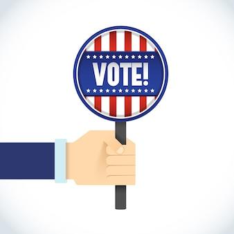 アメリカ大統領選挙フラット看板
