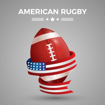 American rugby background