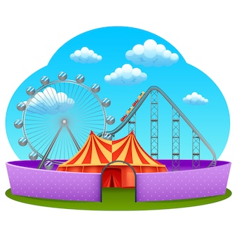 Amusement part concept