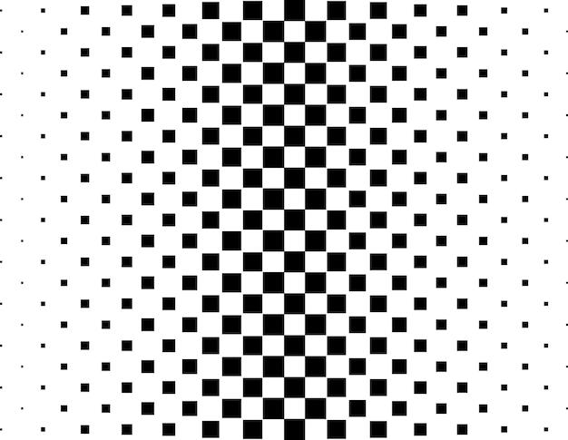 추상 흑백 하프톤 배경