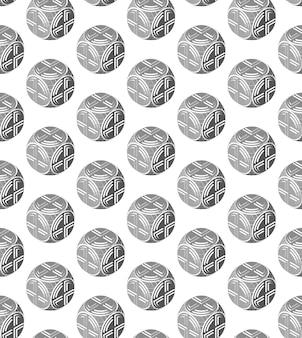 球形オブジェクトの抽象的なパターン製造可能性ラウンドオブジェクト抽象的なデザイン