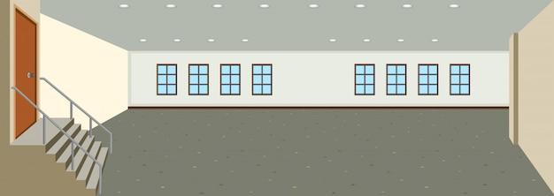 Фон пустой комнаты