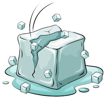 An ice cube