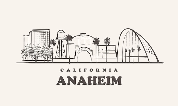 애너하임 스카이 라인, 캘리포니아
