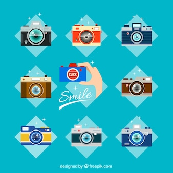 Analog cameras collection