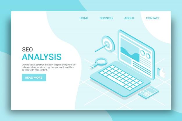Analysis of seo data