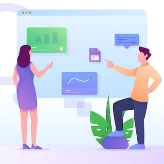 Analysis statistics manage  dashboard