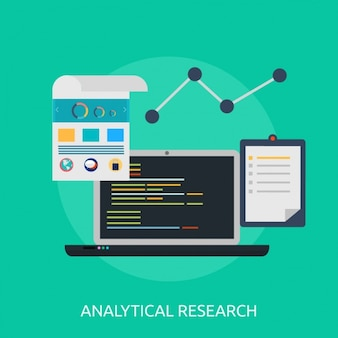 Analytical research background