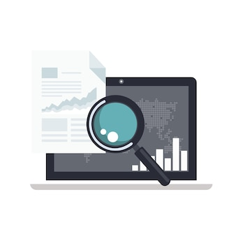 Analytics and business intelligence concept