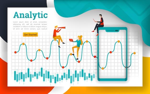 金融および商品市場のための分析