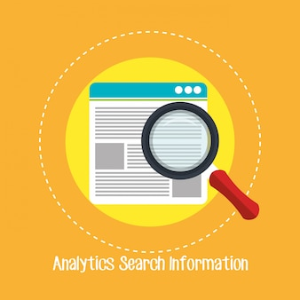 Analytics search information