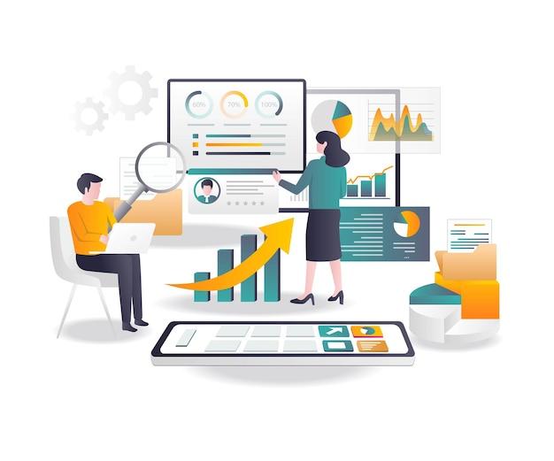 Analyze app and web smartphones