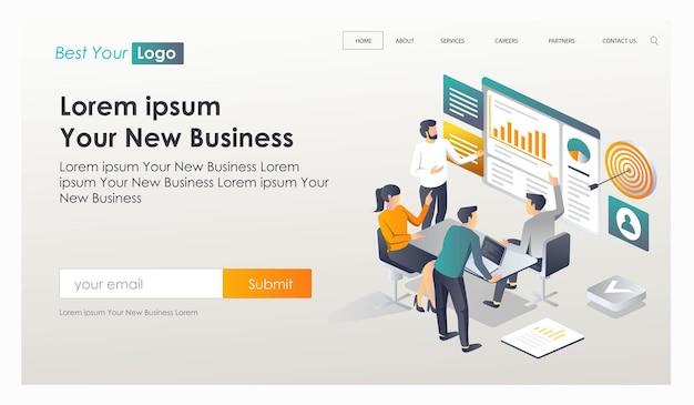 고객 분석 및 솔루션 또는 개념 및 계획 전략 찾기