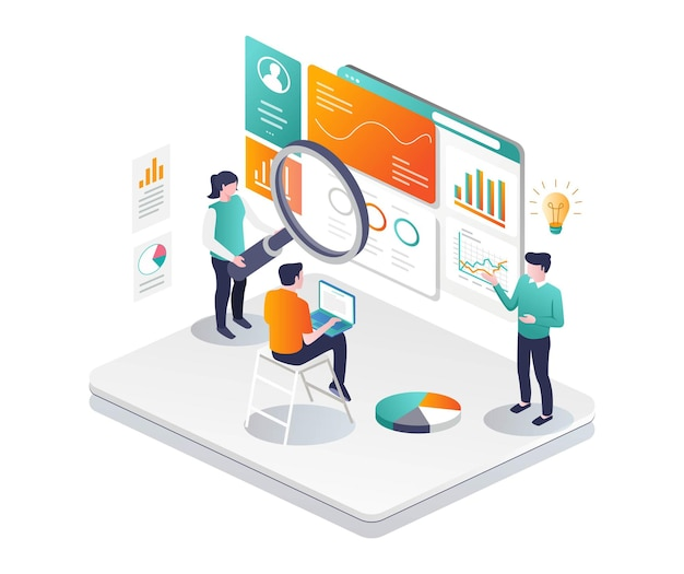 Analyze web and develop seo business