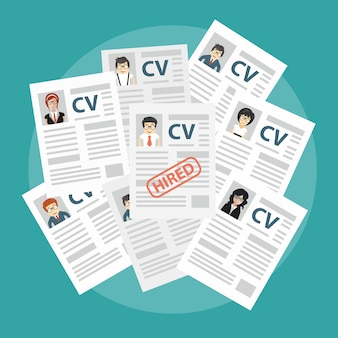 Analyzing resume papers