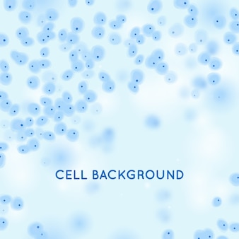 Фон анатомической клетки