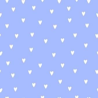 Анатомическое сердце в мультяшном стиле для открытки или печати