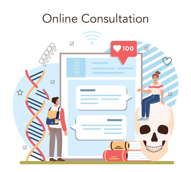 Anatomy school subject online service or platform internal human