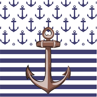 Anchor background design