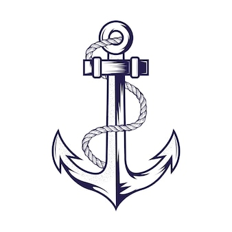 Anchor design template