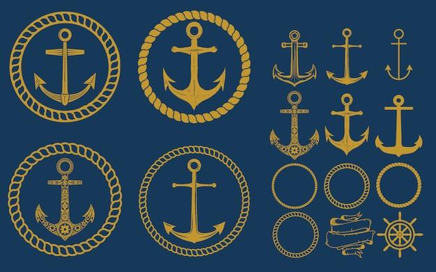 Anchor labels set