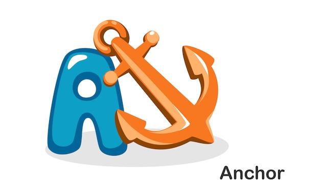 A for anchor