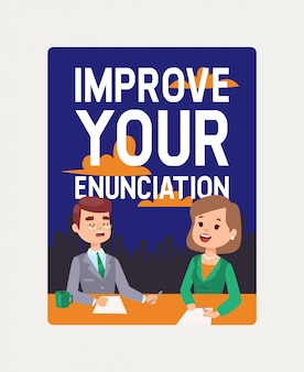 Anchorman courses. improve your enunciation