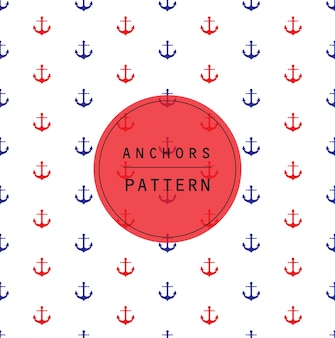 Anchors pattern and background