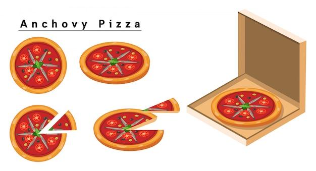 멸치 피자