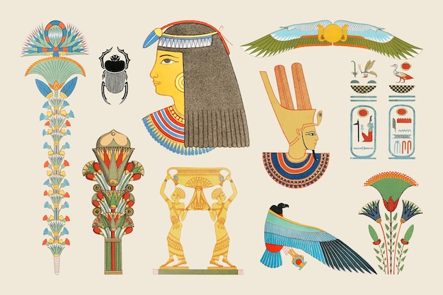 고대 이집트 장식 삽화