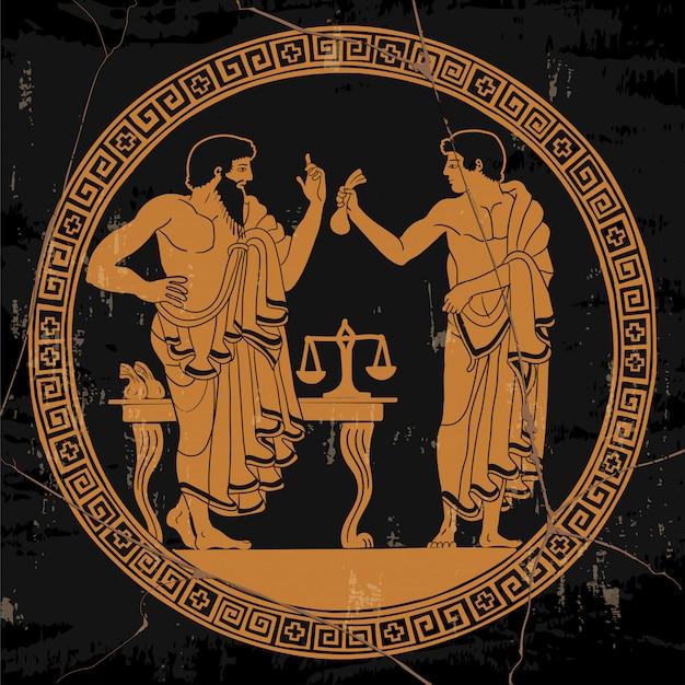 Ancient greek people.