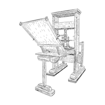 Printing house industry. plotter inkjet offset machines
