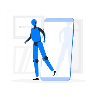 Android concept illustration