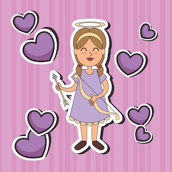 Angel fairy godmotherポップアート