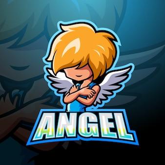 Angel mascot esport