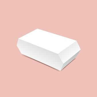 Угловая коробка макет