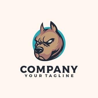 Злая собака логотип