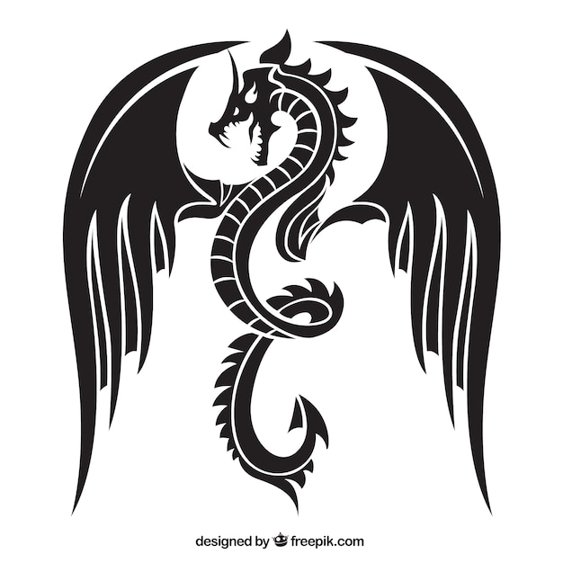 dragon vectors photos and psd files free download rh freepik com dragon vector file for cnc router dragon vector free