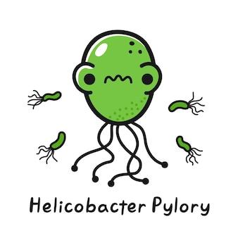 怒っているヘリコバクターピロリ菌の特徴