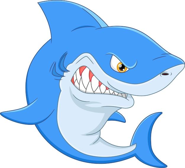 Злая акула мультфильм