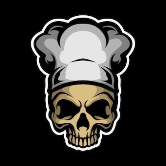 Повар злой череп