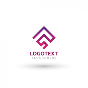 Angular logo template