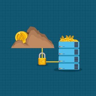 Angur mining set icons