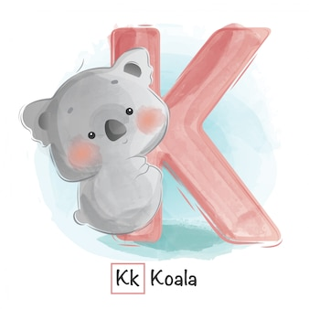 Animal alphabet - k