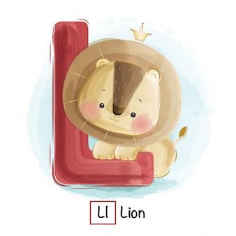 Animal alphabet - l