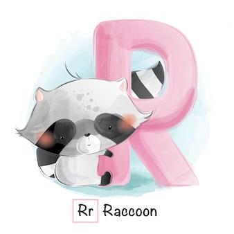 Animal alphabet - letter r