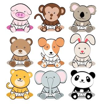 Животные младенцы